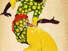 5013_50x43 Танцующий араб
