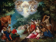 1582_90х60_Ян Брейгель (старший) - Крещение Христа