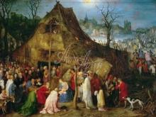 1584_90х62_Ян Брейгель (старший) - Поклонение волхвов