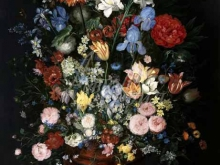 1586_90х69_Ян Брейгель (старший) - Натюрморт с цветами