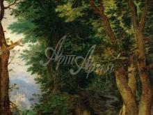 1587_90х71_Ян Брейгель (старший) - Лесной пейзаж