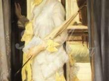 1521_70х37_Жак-Жозеф Тиссо- Портрет мисс Ллойд