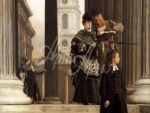 1531_70х49_Жак-Жозеф Тиссо - Посетители Лондона