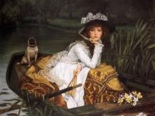 1543_70х51_Жак-Жозеф Тиссо - Леди в лодке