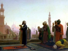 1710_70х42_Жан-Леон Жером - Молитва в Каире