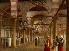 1718_80х68_Жан-Леон Жером - Молитва в мечети