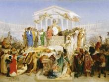 1720_90х59_Жером Жан-Леон - Век Августа, Рождение Христа