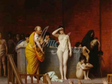 1723_100х79_Жан-Леон Жером - Продажа рабыни