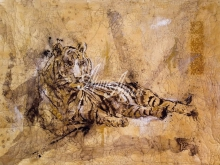 6027_80x100 М.Уилей - Тигр