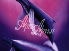 6130_60x40-delfiny-pod-vodoj