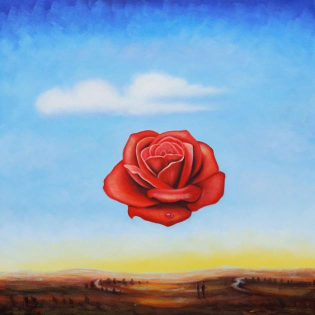Сальвадор Дали - Медитативная роза