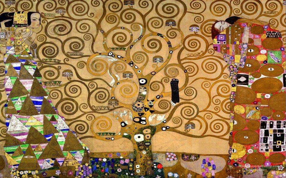 Густав Климт – Дерево Жизни