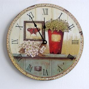 Настенные часы ручной работы в СПб