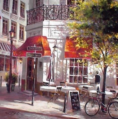 Хейтон Брент - Французское кафе