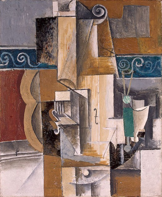 Пабло Пикассо - Гитара и скрипка
