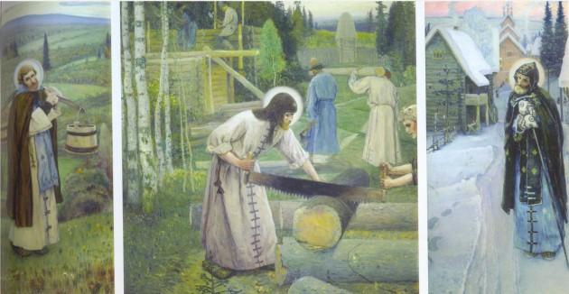 Нестеров - Деяния Сергия Радонежского