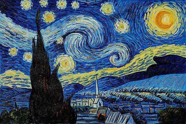 Винсент Ван Гог – Звездная ночь