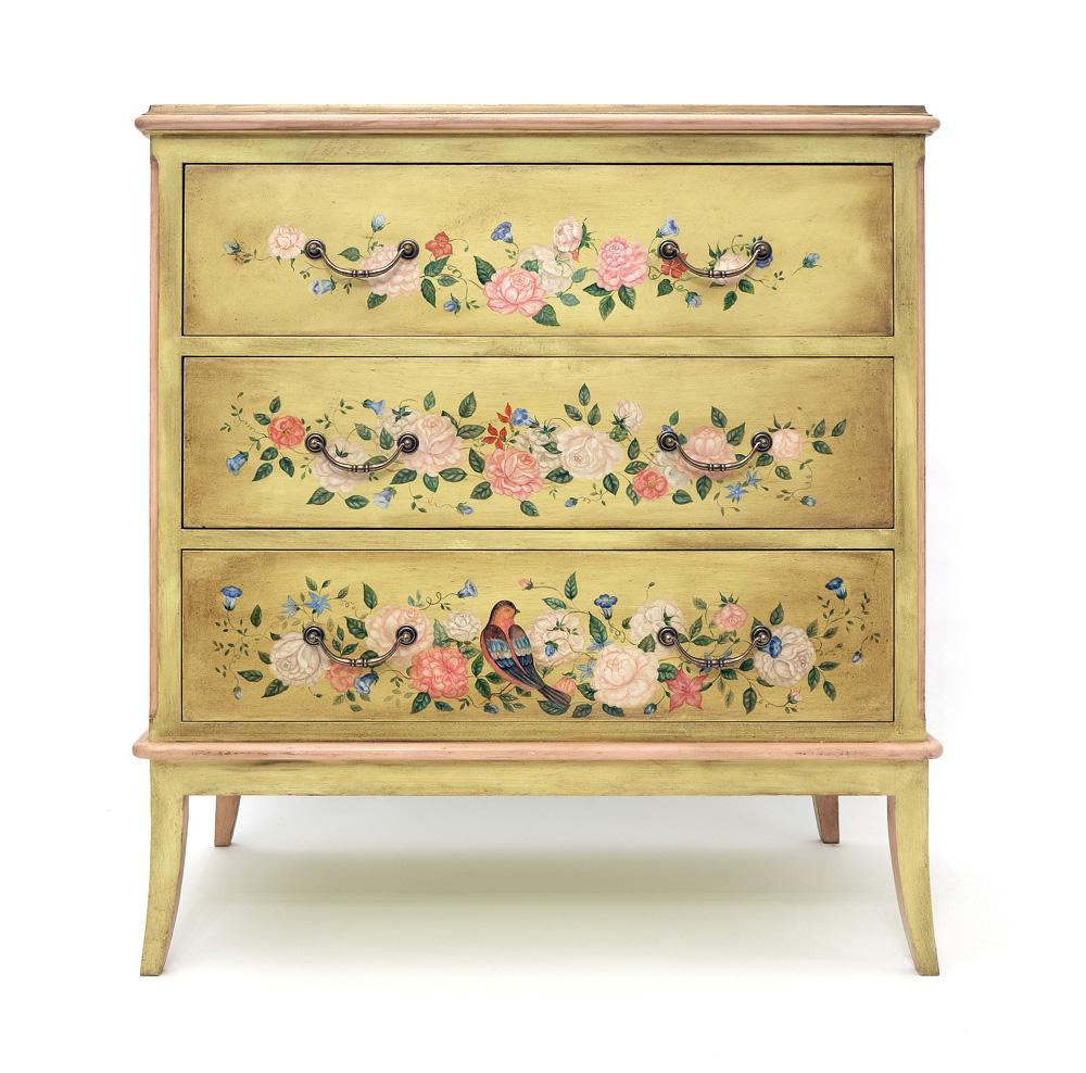 Расписать мебель в стиле прованс своими руками рисунки 34