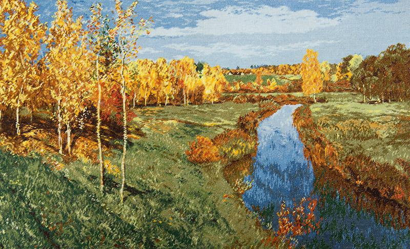 Золотая осень – Исаак Левитан