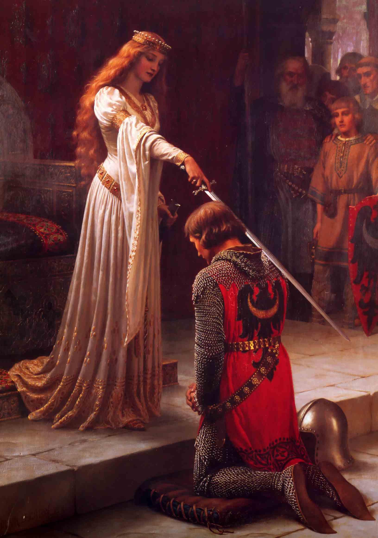 Посвящение в рыцари – Фредерик Лейтон