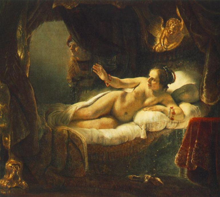 Даная – Рембрандт