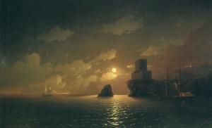 Лунная ночь – И.К. Айвазовский